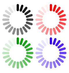 loading icon indicator for progress vector image