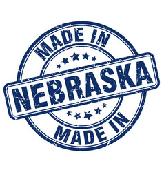 Made in nebraska vector