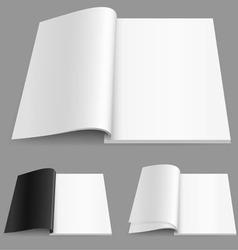 realistic magazine vector image