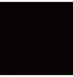 Red Dots Black Background vector image