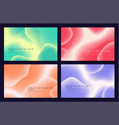 set abstract minimalist backgrounds with vector image