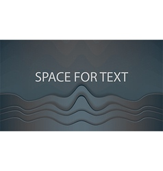 Space for text widescreen vector image