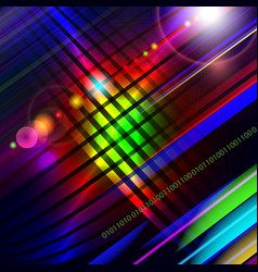 abstract technology-style colorful background vector image