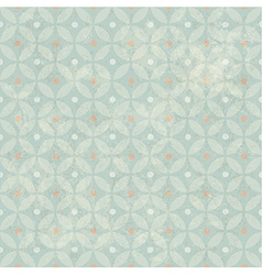 retro aged seamless pattern vector image vector image