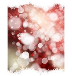 Festive defocused lights EPS 10 vector image vector image
