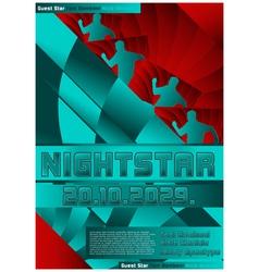 sport event poster design soccer vector image vector image