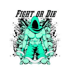 fight or die vector image