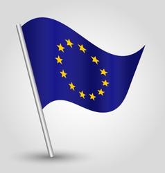 flag eu european union vector image
