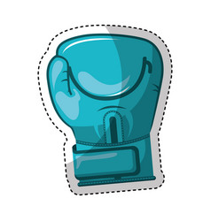 glove boxing isolated icon vector image