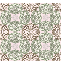 Rosy pattern vector