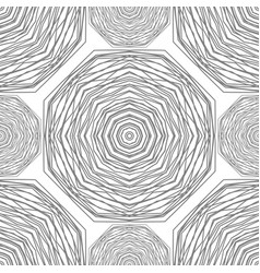 Seamless pattern circular stylish background vec vector