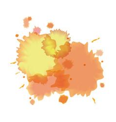 splash watercolor texture design vector image