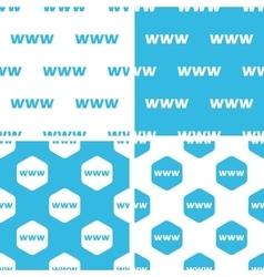 WWW patterns set vector