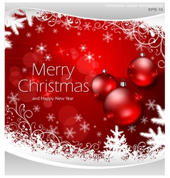 christmas ornament stars snowflakes 10 SS 2 v vector image