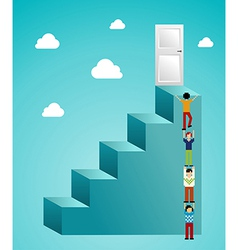 Cloud computing expansion vector image vector image