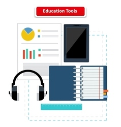 Education Tools vector image vector image