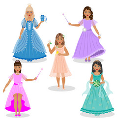 fairy set vector image vector image