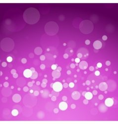 glowing lights abstract background vector image