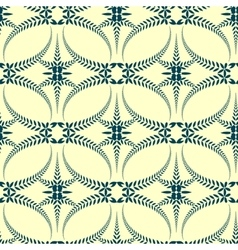 Seamless laurel wreath pattern Swirl ornament vector image