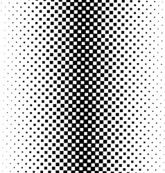 Seamless monochrome square pattern vector image vector image