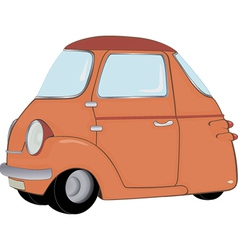 The toy car vector image vector image