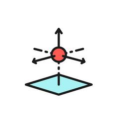 3d product modeling 3 dimensional model flat vector