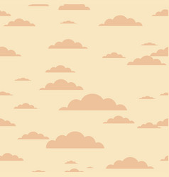 clouds background - seamless cloud texture vector image