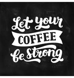 Coffee board vector
