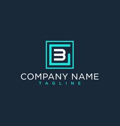 Gb bg initial logo luxury design inspiration vector