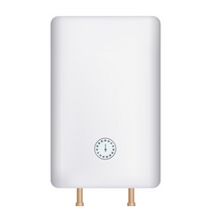 House boiler icon realistic style vector