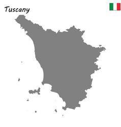 Map of region of italy vector