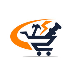 one stop shopping vector image