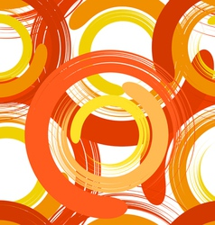 Abstract seamless texture with color circles vector