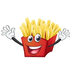 A french fries vector