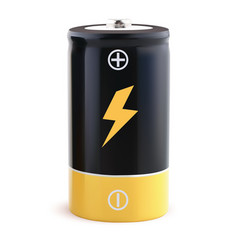 Battery realistic 3d vector