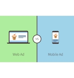 Comparing of advertising vector