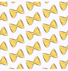 cute pasta bow texture simple repetition vector image