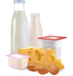 Dairy Products vector