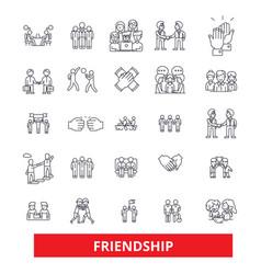 Friendship relationship partnershipunity vector