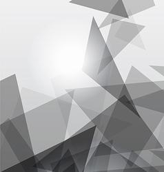 Grey geometric transparency vector image