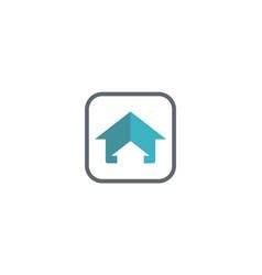 House arrow realty logo vector