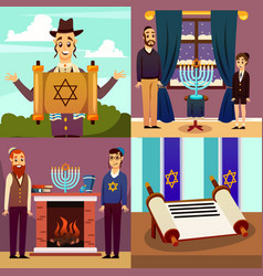 Jewish nation design concept vector