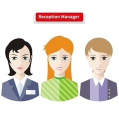Reception manager vector