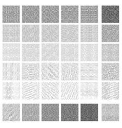 Seamless pattern rough hatching grunge texture vector