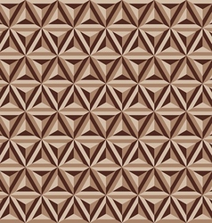 Abstract geometric triangle seamless patterns vector