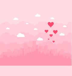 City of love vector