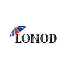london doodle hand drawn lettering text with the vector image