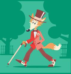 Mr Fox vector image