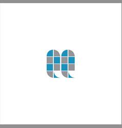 Q letter logo design on black color background vector