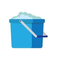 Bucket icon cartoon vector image